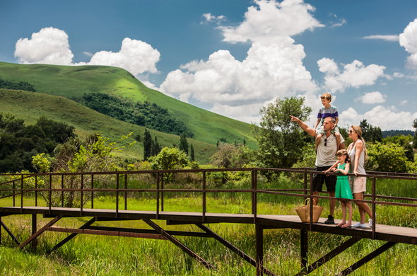 family holiday in the drakensberg
