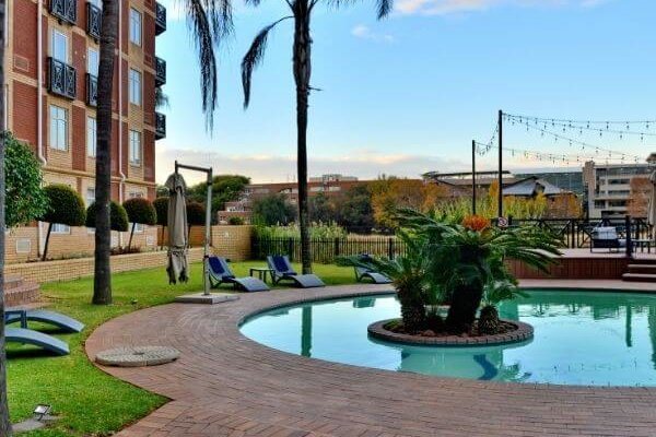 ANEW Hotel Centurion Poolside Lounge Area