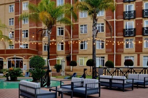 ANEW Hotel Centurion Outdoor Lounge Area